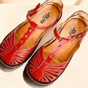 JBU Jambi Melon Mary Janes Casual Shoe Size 6M